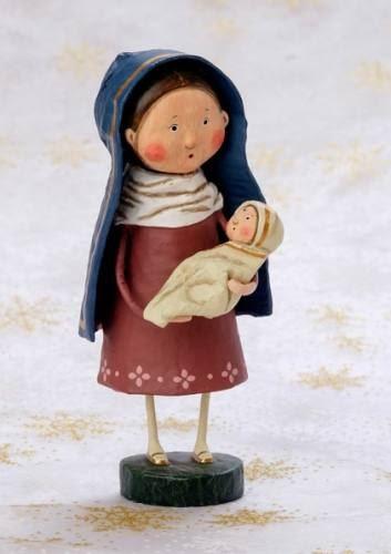 Mary & Jesus by Lori Mitchell