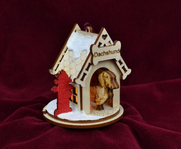 Dachshund K-9 Cottage by Ginger Cottages
