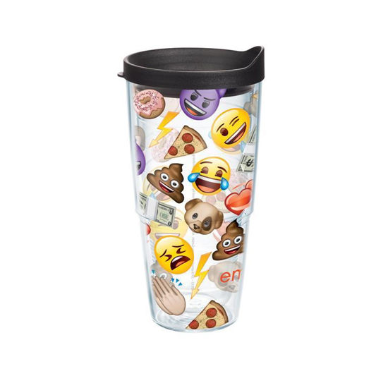 emoji™ - All Over Collage Wrap 24oz Tumbler by Tervis