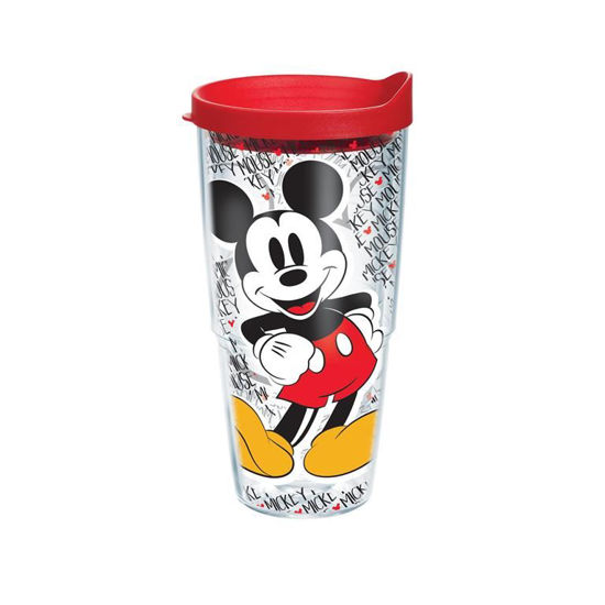 Disney - Mickey Mouse Name Pattern Wrap 24oz Tumbler by Tervis