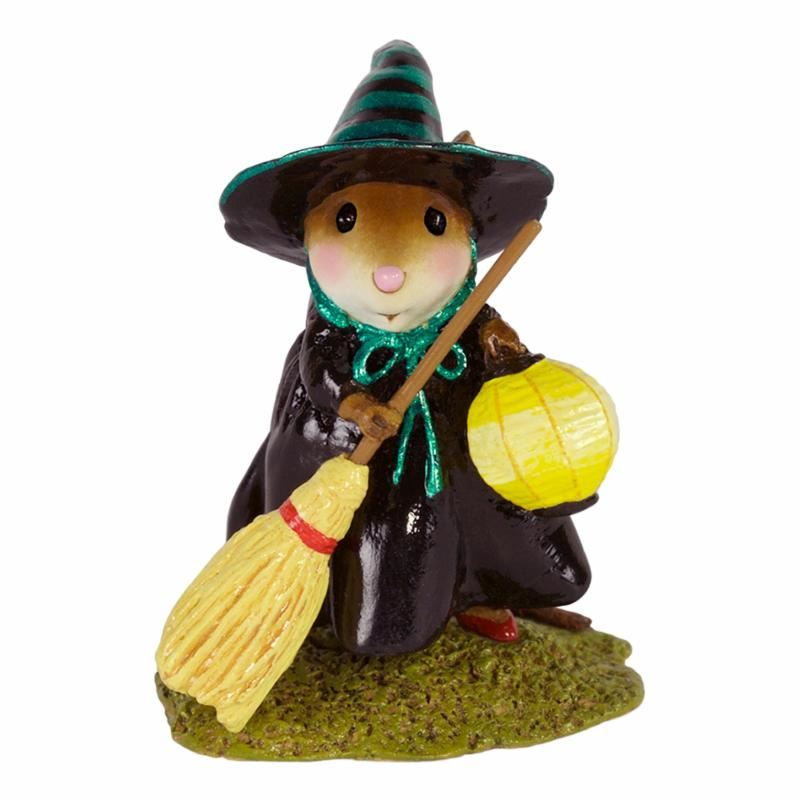 Little Witch with Lantern M-583 By Wee Forest Folk®