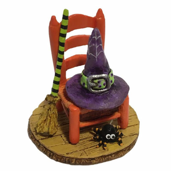 Witchy's Hip Hat & Broom A-38 by Wee Forest Folk®