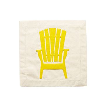 Chillin' Chair Pillow Panel by Nora Fleming