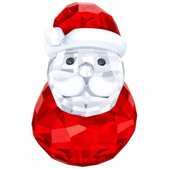 Rocking Santa Figurine by Swarovski