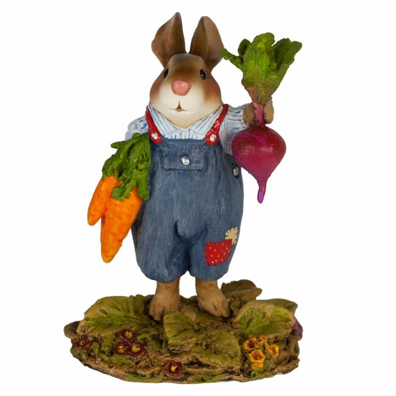 Mr. Harvest Bunny B-20 by Wee Forest Folk