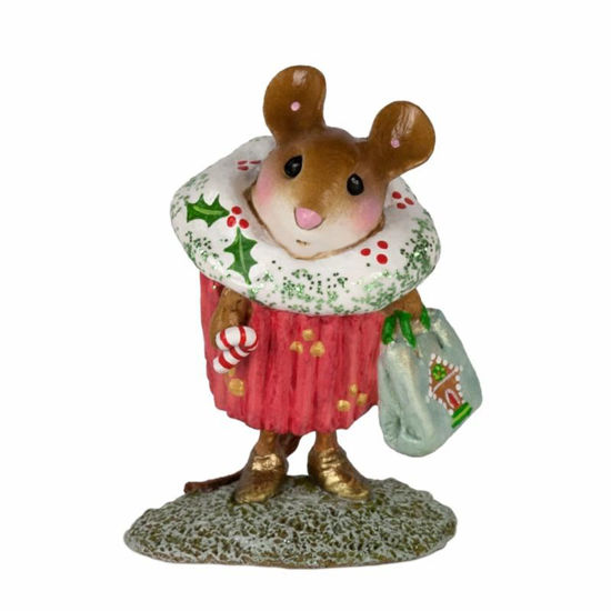 Christmas Cupcake Treat M-574dby Wee Forest Folk