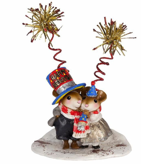 Happy New Year! M-456bby Wee Forest Folk
