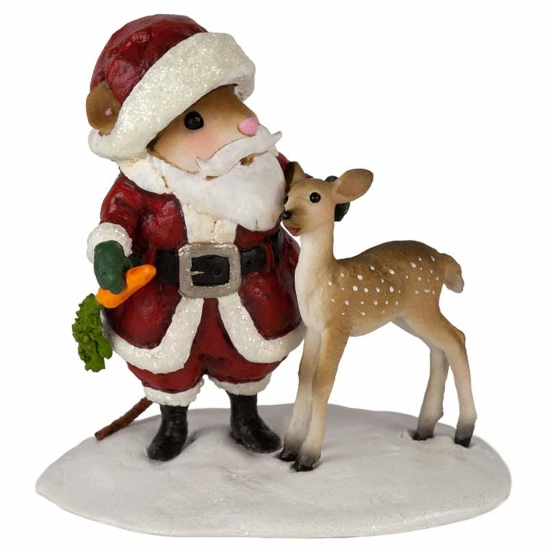 Santa's Little Deer M-602 By Wee Forest Folk®