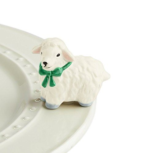 I Love Ewe! (White Lamb) Mini by Nora Fleming