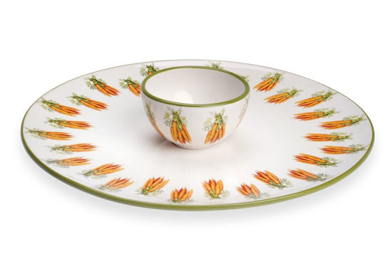 Carrot Vegetable  Server/Bowl Set by Boston International