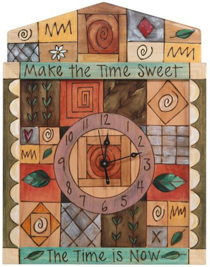Make the Time Sweet Wall Clock by Sticks