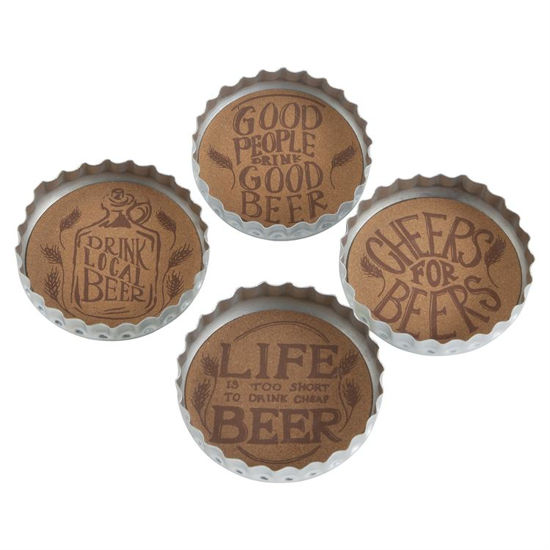 Bottle Cap Beer Coaster by TAG