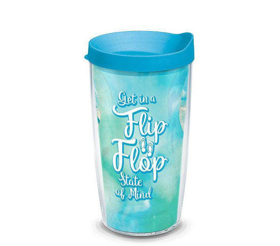 Flip Flop State of Mind 16oz Tumbler by Tervis