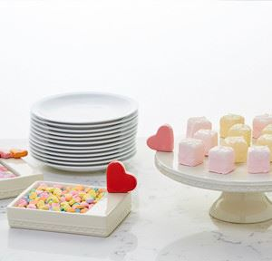 Pearl Pedestal Server Cake Stand by Nora Fleming