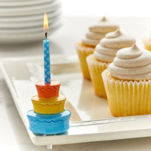 Best Birthday Ever! (Cake/Candle) Mini by Nora Fleming