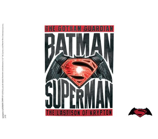 Batman VS Superman Movie 16oz Tumbler by Tervis
