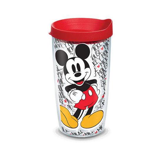 Disney -  Mickey Mouse Name Pattern Wrap 16oz Tumbler by Tervis