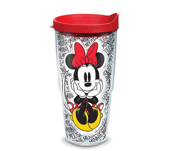 Disney -  Minnie Mouse Name Pattern Wrap 16oz Tumbler by Tervis