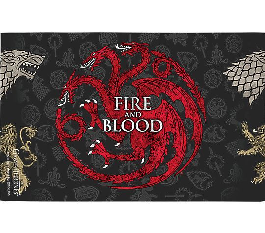 Game of Thrones™ - House Targaryen 16oz. Tumbler by Tervis