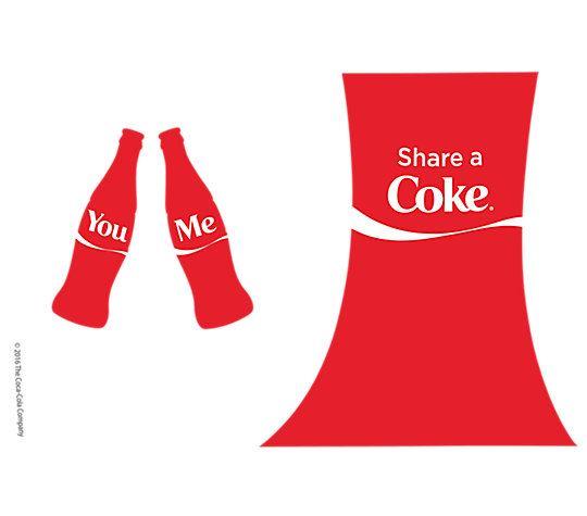 Coca-Cola® - Share a Coke 16oz Tumbler by Tervis