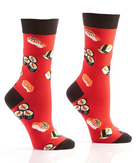 Sushi Women's Crew Socks by Yo Sox