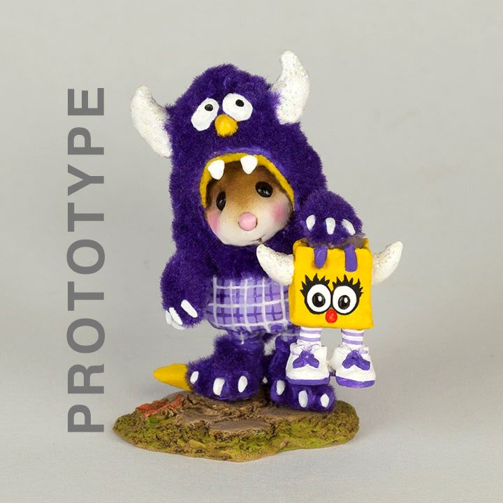 Purple People Eater WMB-04 by Wee Forest Folk
