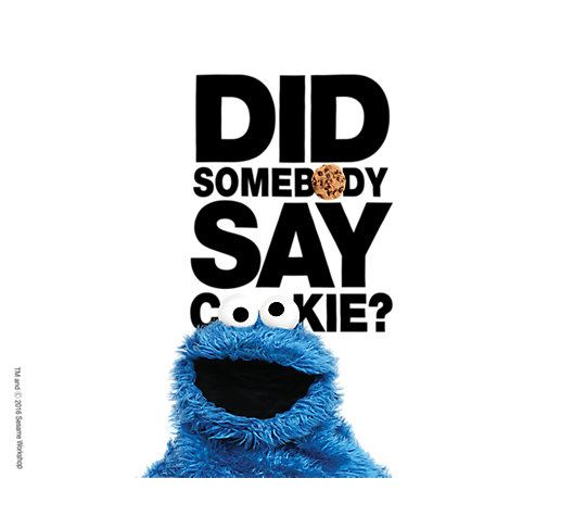 Sesame Street Did Somebody Say Cookie 24oz by Tervis
