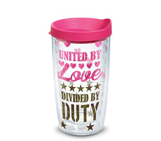 United By Love Divided By Duty 16oz by Tervis
