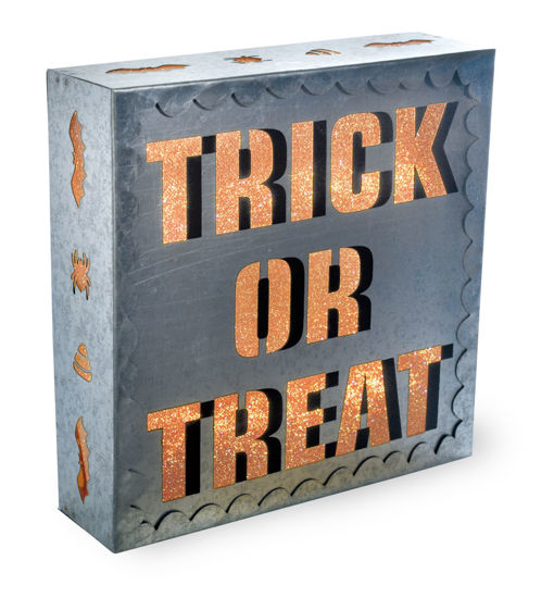 Trick or Treat LED Sign by Boston International