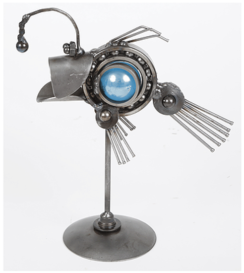 Small Angler Fish by Engine-New-Ity®