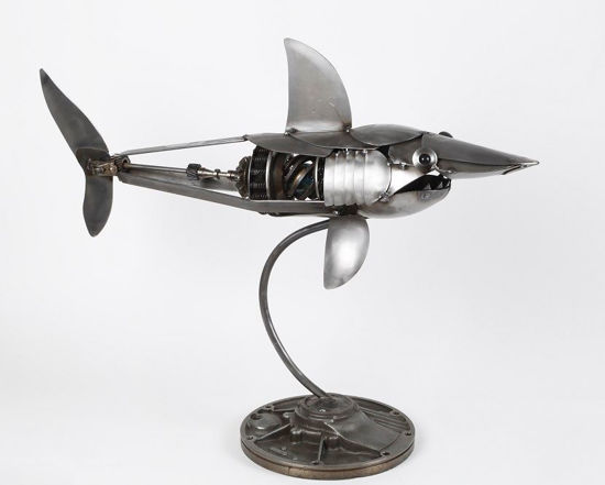 Large Shark by Engine-New-Ity®