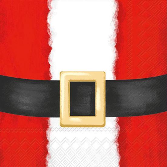 Santa Suit Cocktail Napkin by Boston International