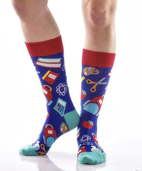 Teachers Pet 2 Women's Crew Socks by Yo Sox