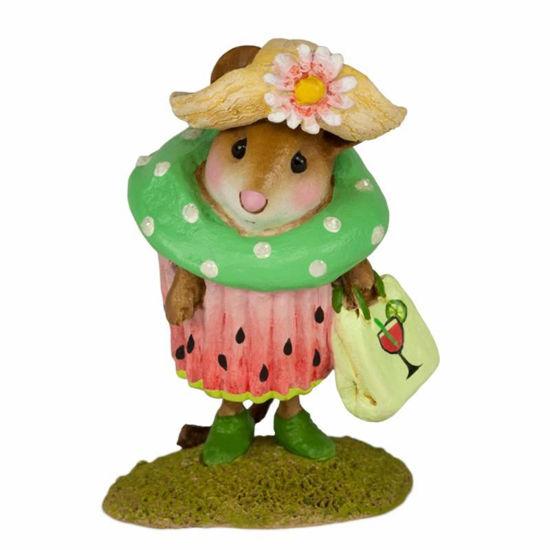 Watermelon Cupcake Treat M-574j by Wee Forest Folk