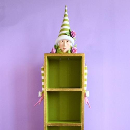 Ella Elf Standing Display by Patience Brewster