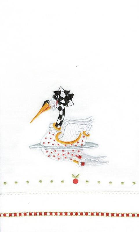 12 Days of Christmas Tea Towels by Patience Brewster