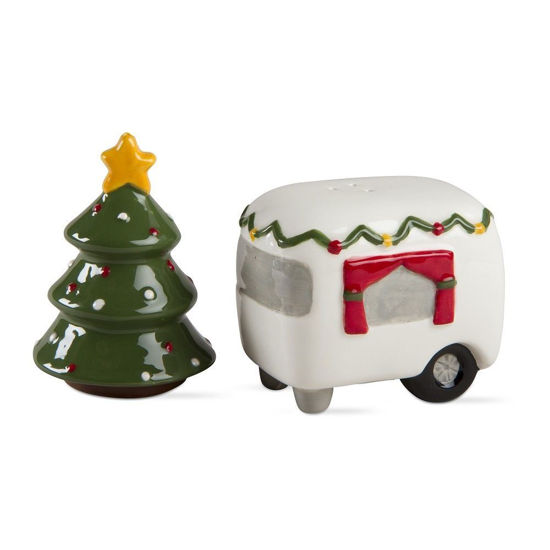 Tree & Camper Salt & Pepper by TAG
