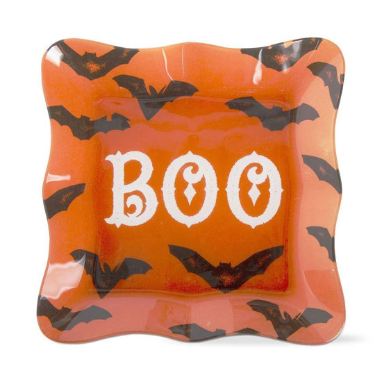 Spooky Fun Glass Plate by TAG