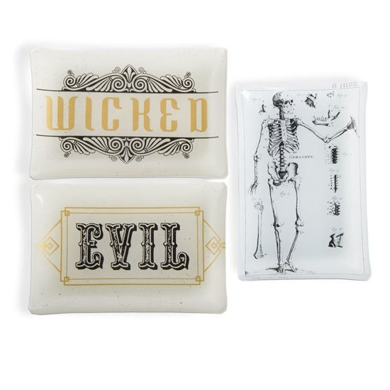 Wicked Evil Glass Plate by TAG