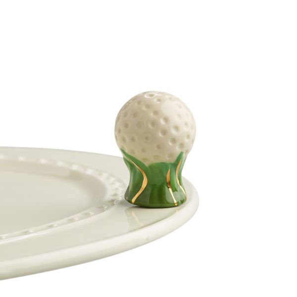 Hole in One (Golf Ball) Mini by Nora Fleming