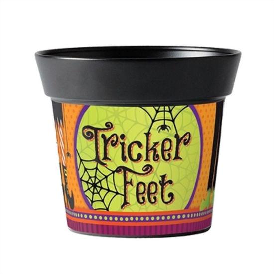 """Tricker Feet 6"""" Art Pot by Studio M"""