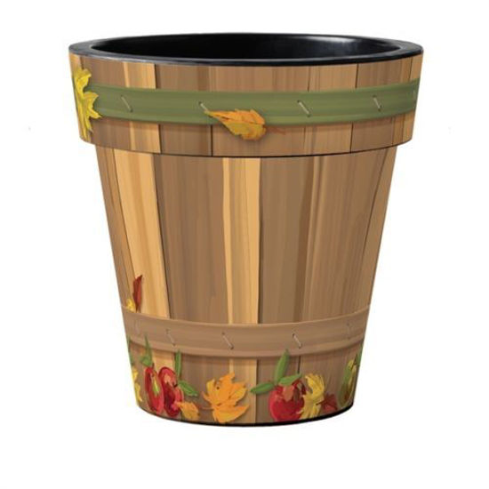 "Basket of Apples 18"" Art Pot by Studio M"