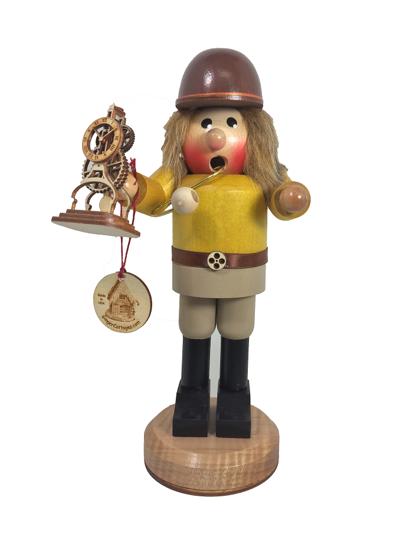 Clockermaker Smoking Man by Ginger Cottages