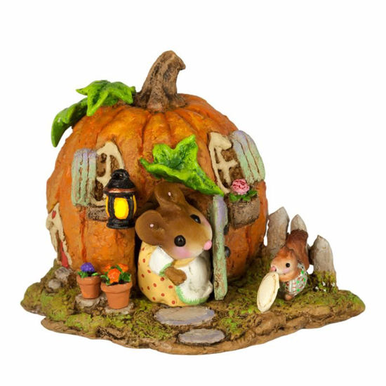 Wee Pumpkin Bungalow M-619 by Wee Forest Folk
