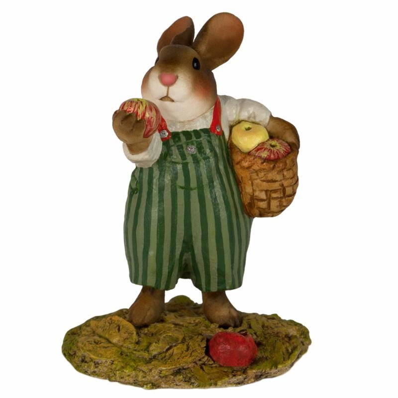 Johnny Apple Bunny B-23 by Wee Forest Folk