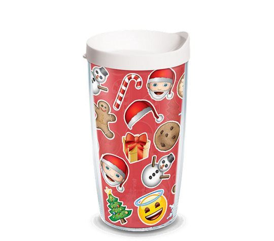 emoji™ - Happy Jolly Merry Holiday 24oz Tumbler by Tervis