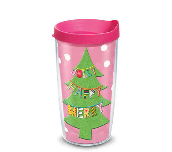 Jolly Happy Merry Wrap 16oz. Tumbler by Tervis