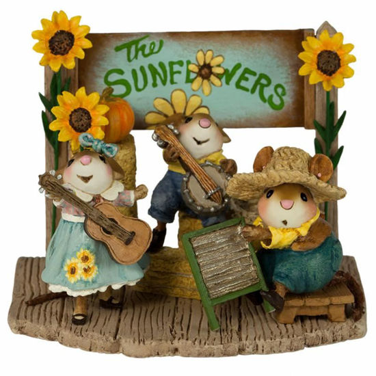 The Swinging Sunflowers M-438a by Wee Forest Folk