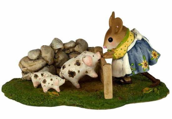 Piggy Petting Zoo M-466c by Wee Forest Folk