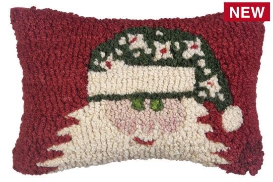 Green Hat Santa by Chandler 4 Corners
